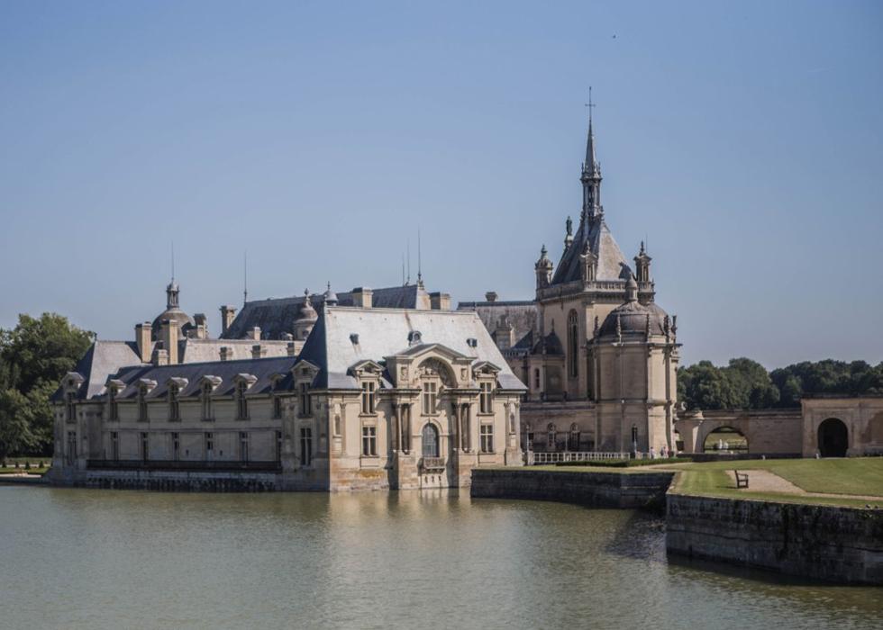 Outskirts of Paris, Chateau de Chantilly