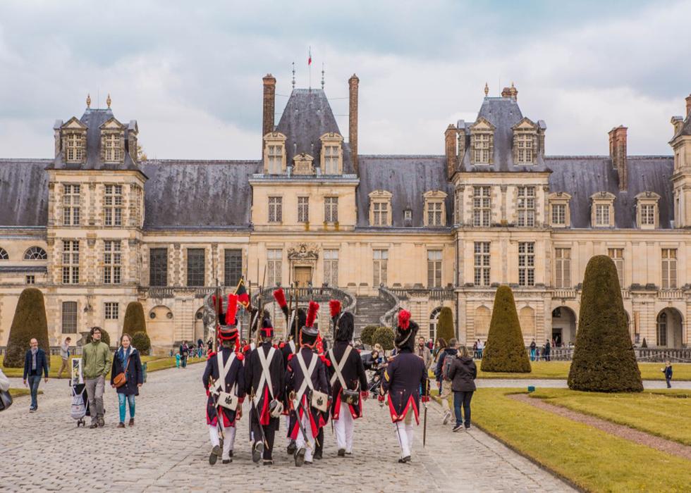 Outskirts of Paris, Chateau de Fontainebleau