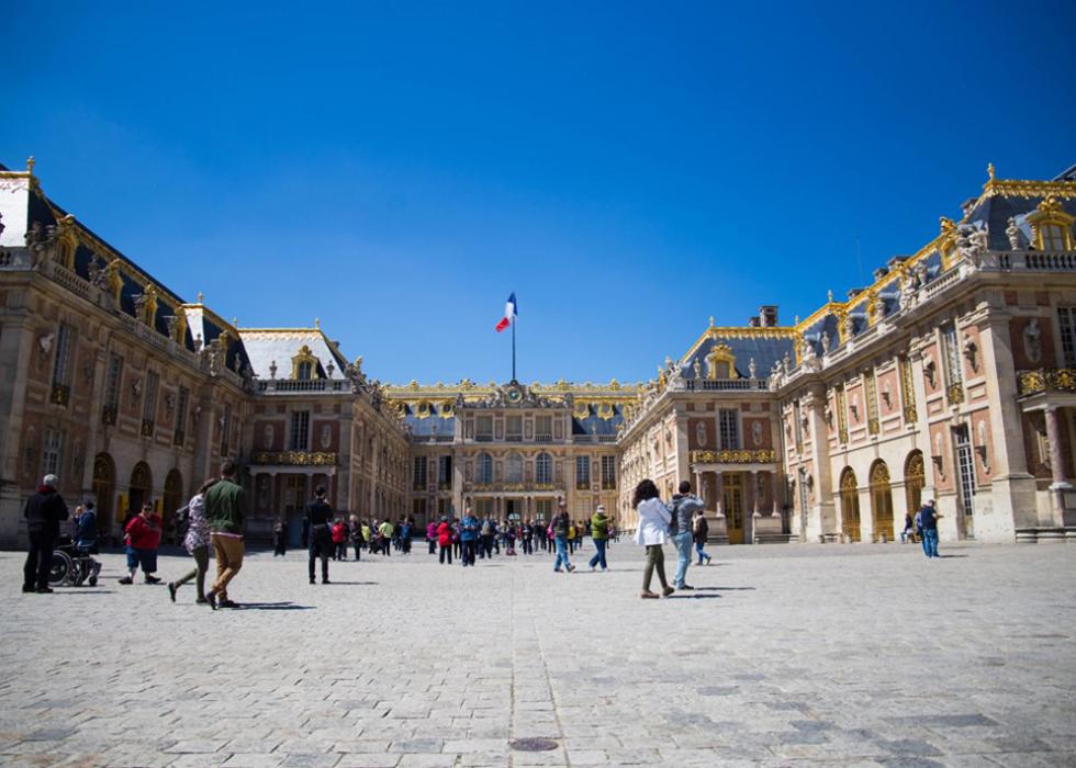 Outskirts of Paris, Chateau de Versailles