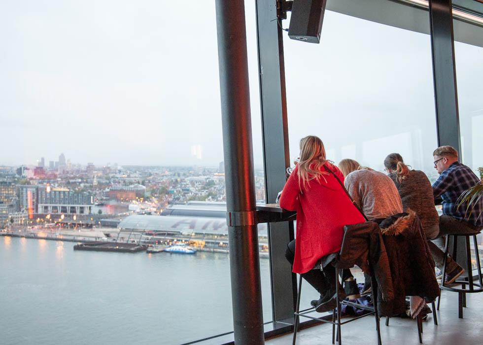 Amsterdam đài quan sát nhà hàng