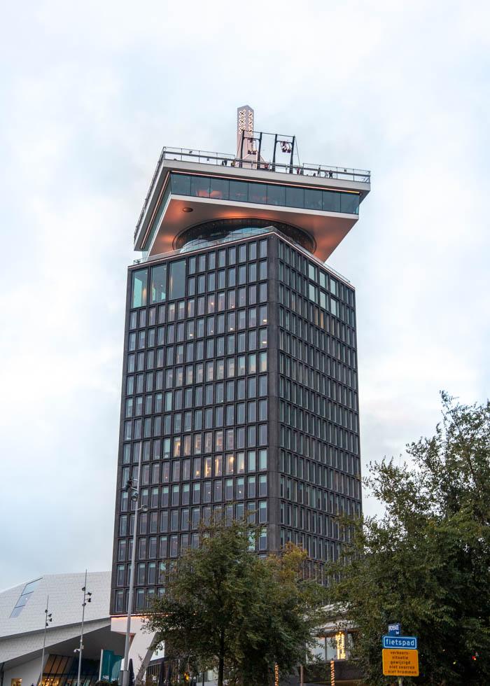 ADAM LOOKOUT смотровая площадка, Амстердам