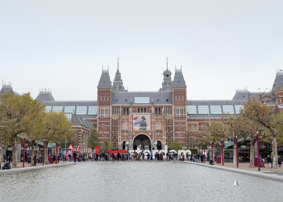 AMSTERDAM MUSEUM : RIJKSMUSEUM / I AMSTERDAM SIGN