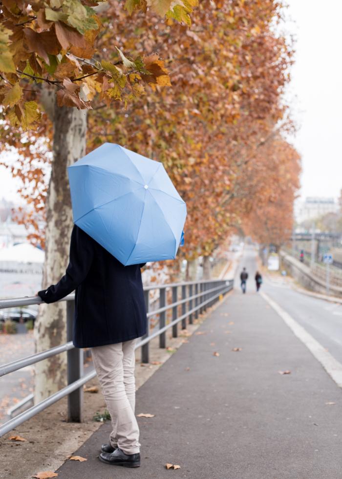 ANATOLE  折叠伞 天蓝色