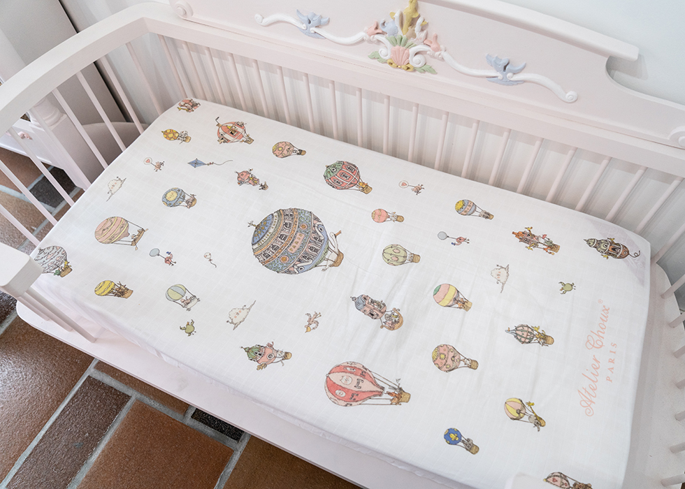 BABY BEDDINGS MADE IN FRANCE WITH ORGANIC COTTON
