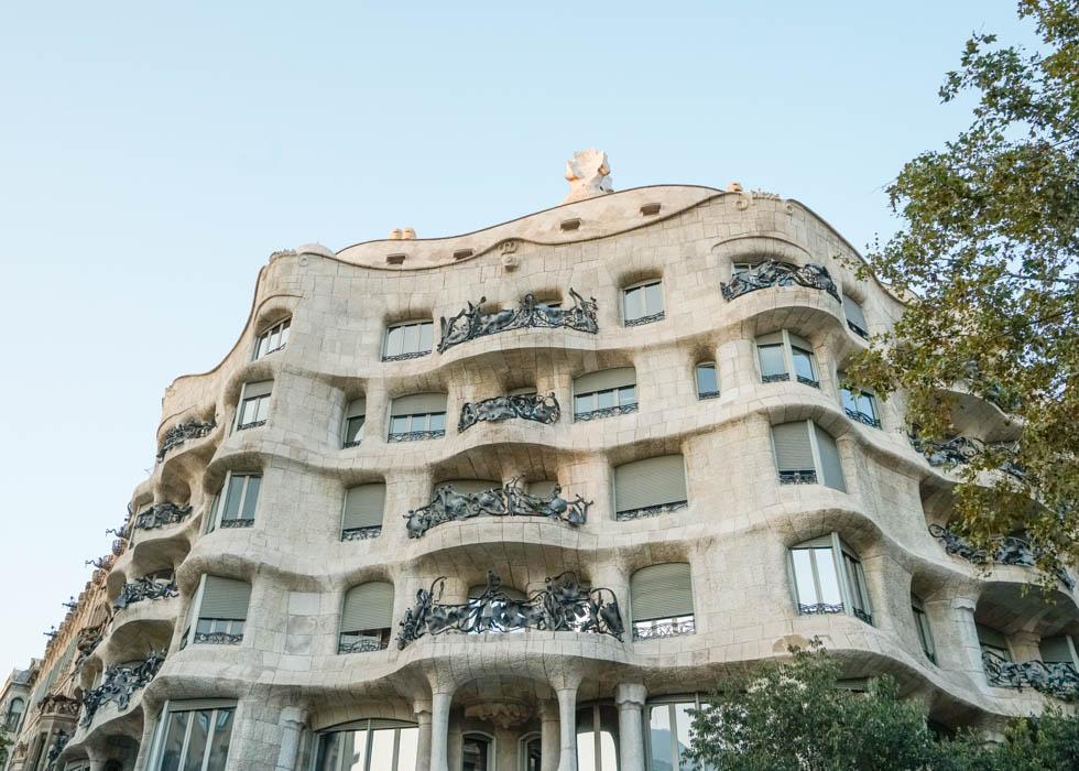 Barcelona Gaudi tour: La pedrera/Casa Mila