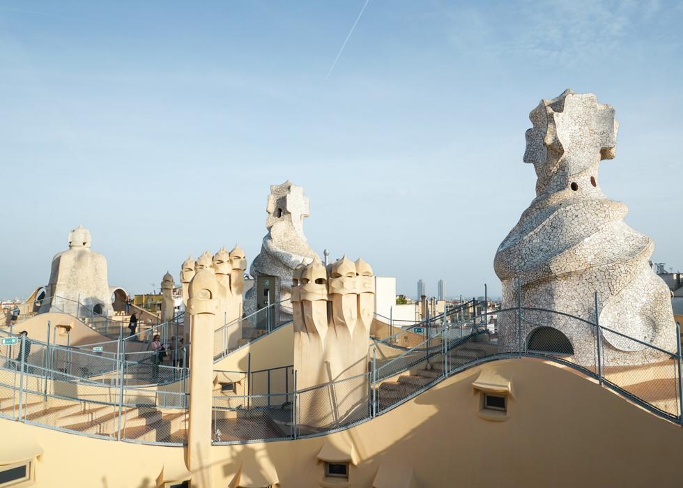 Barcelona Gaudi tour: Casa Mila