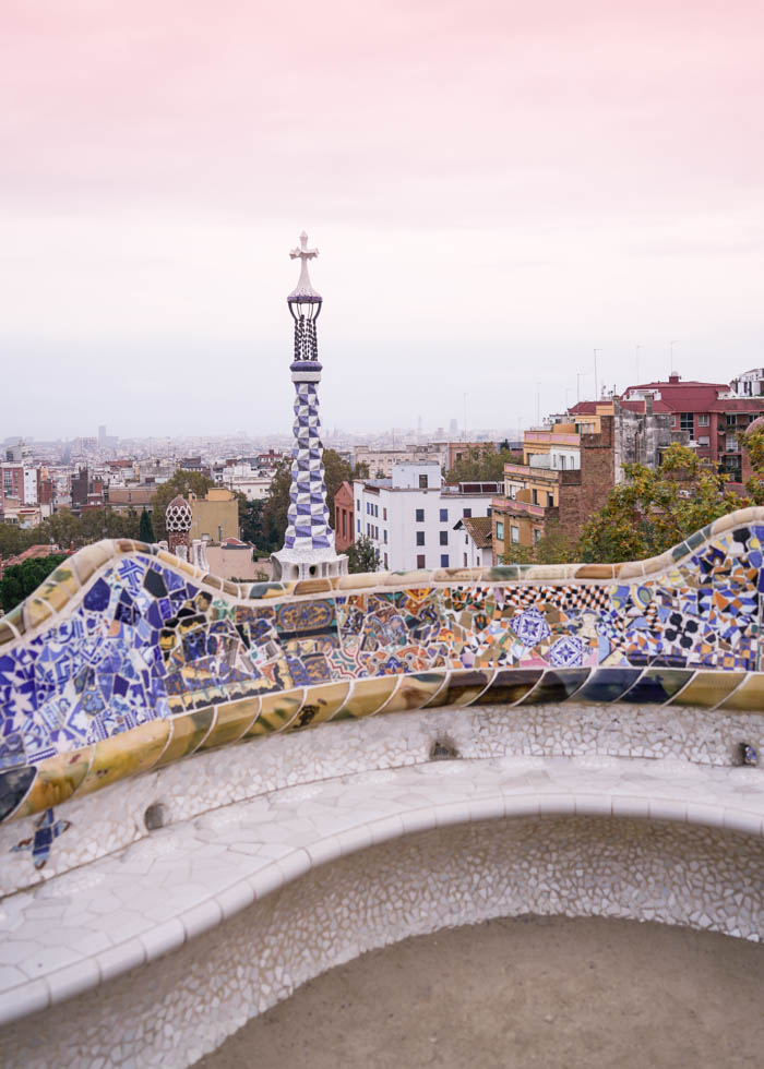 Barcelona Guell Park view