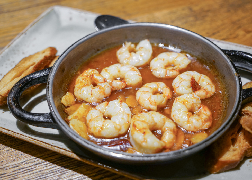 Best gambas restaurant in Barcelona : Pura Brasa