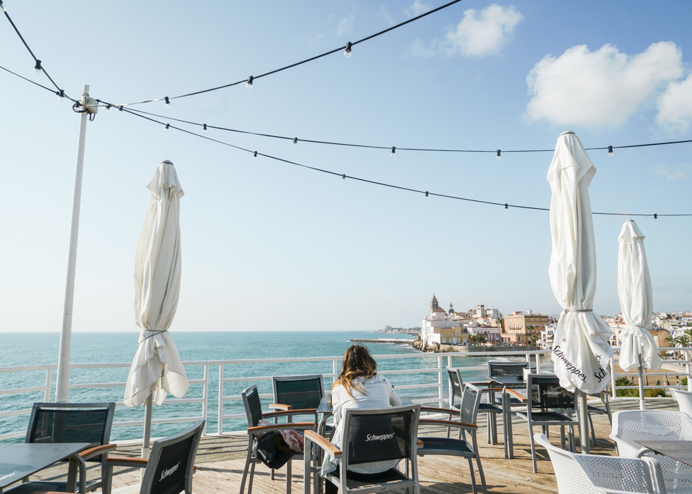 Best cafe in Sitges : Vivero Beach Club Restaurant