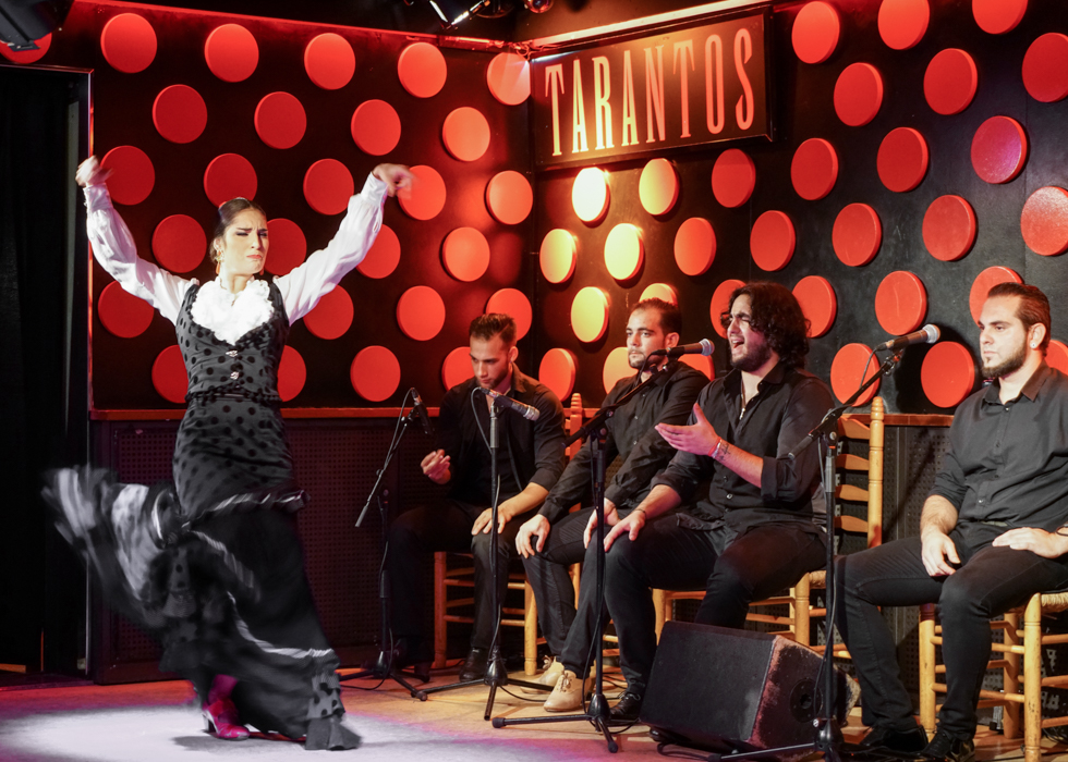 Flamenco show in Barcelona : Tarantos
