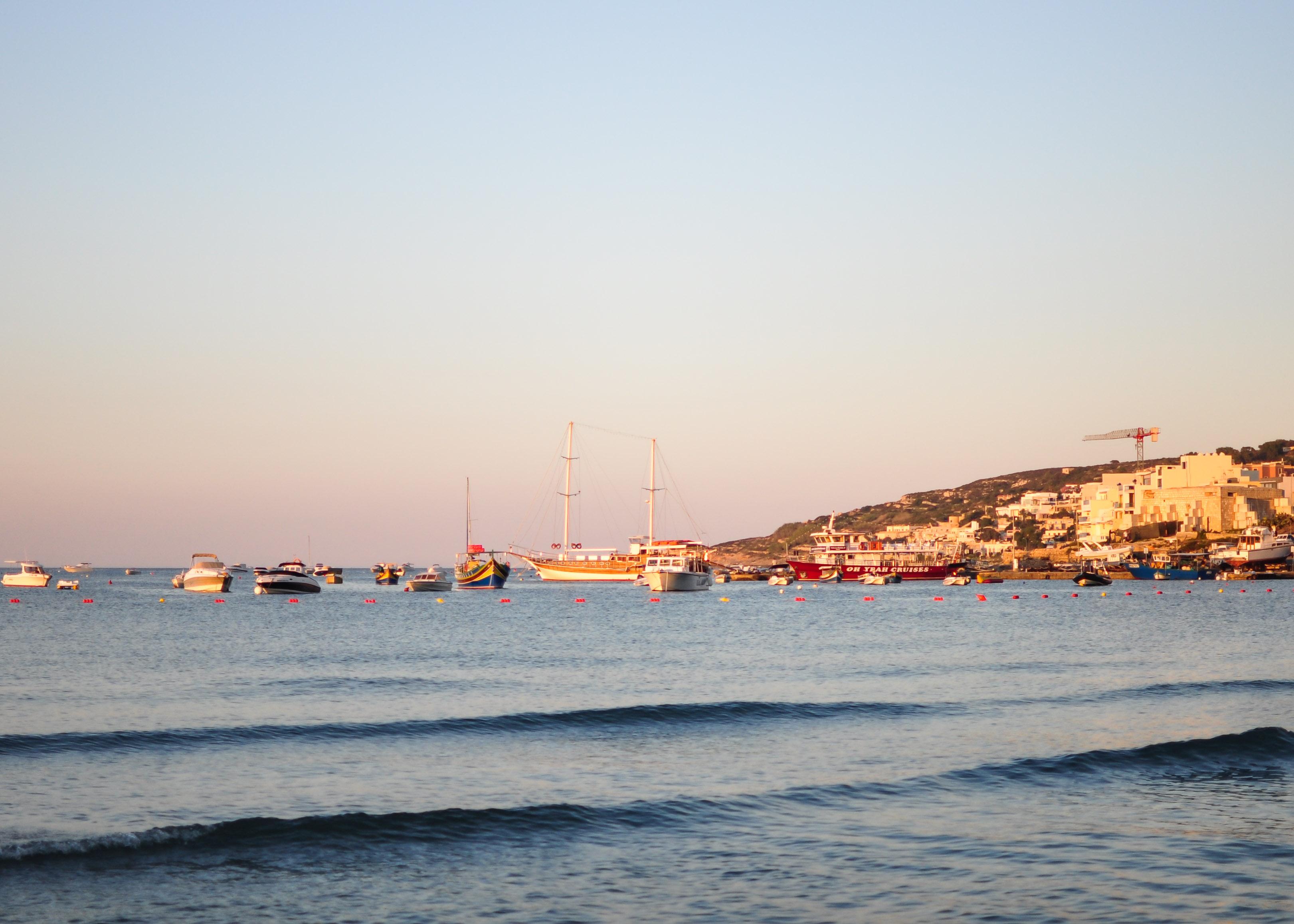 Best beach in Malta: Ghadira Bay