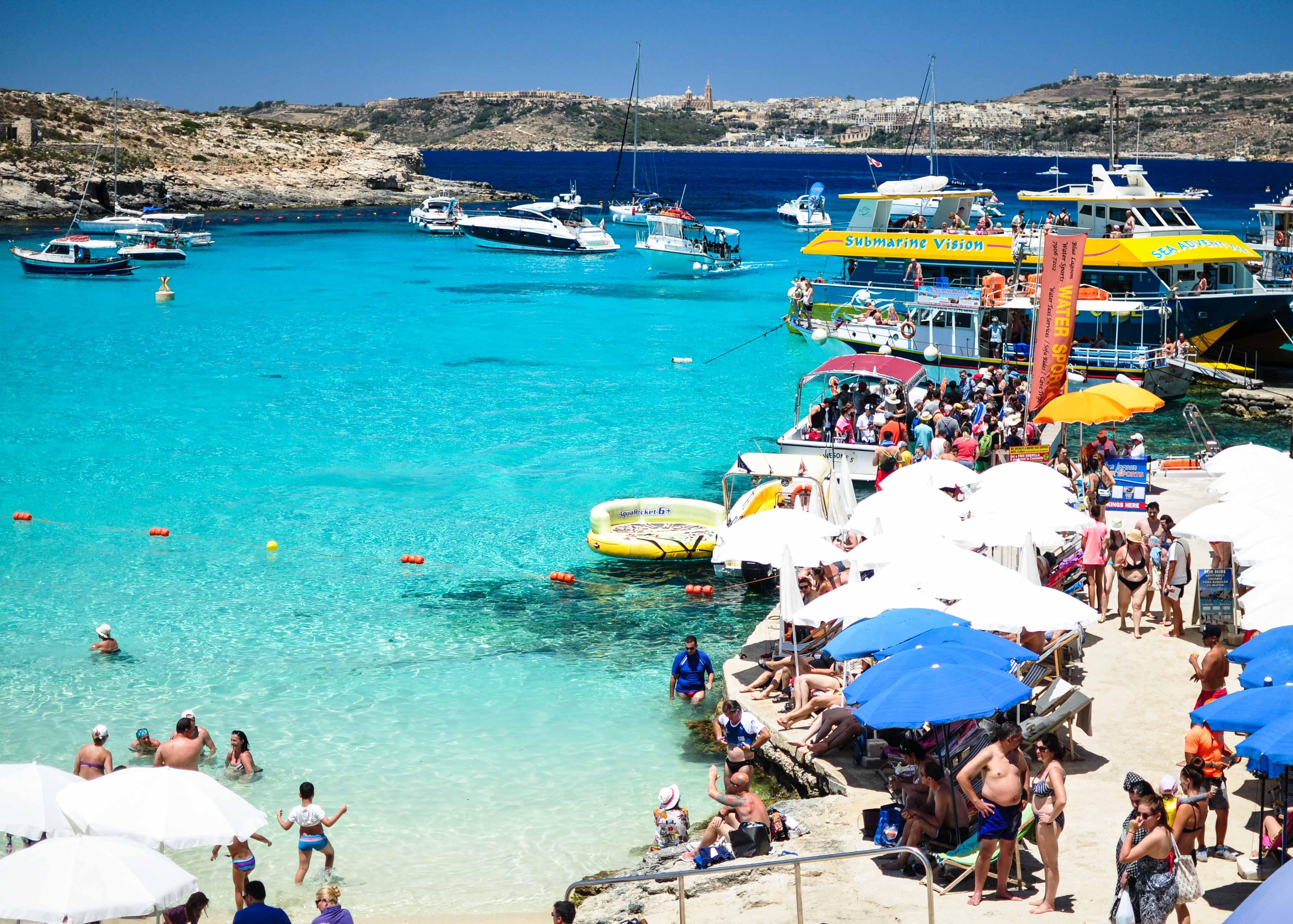 Best beaches in Malta: Blue Lagoon
