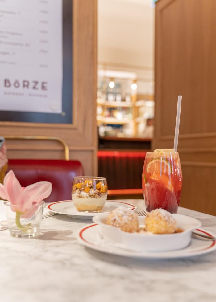 Desserts in Budapest