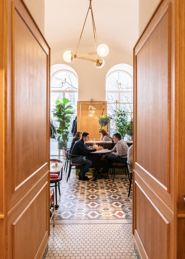 Unique restaurant in Budapest