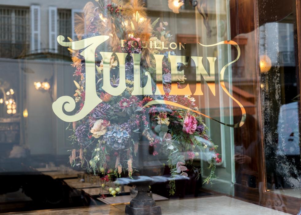 巴黎划算美食餐廳 百年美食  Bouillon Julien