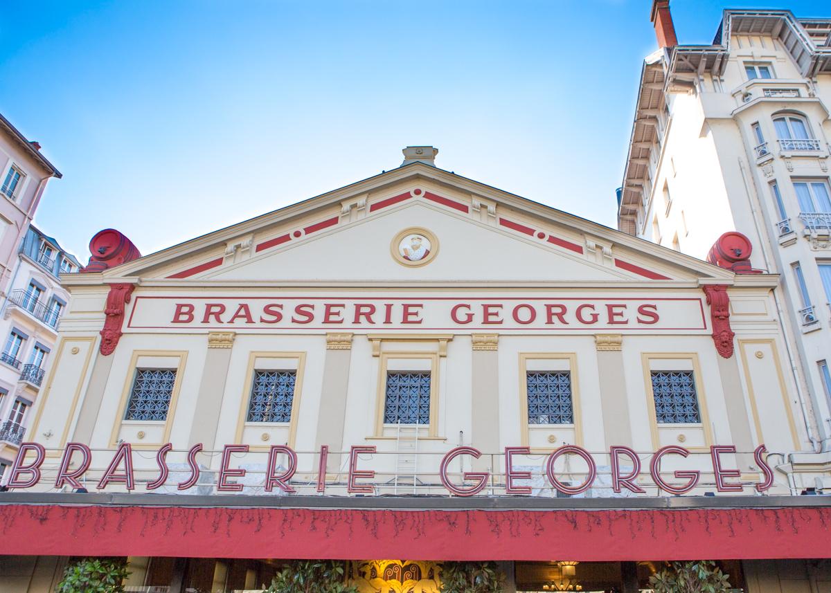 Brasserie Georges ร้านอาหารเมืองลียง