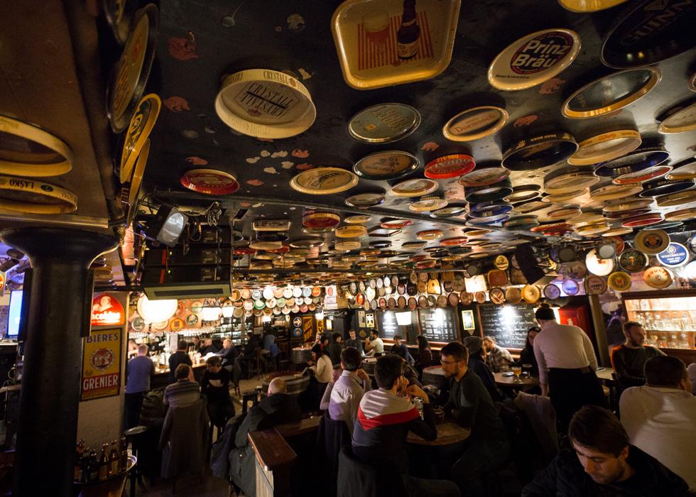 Delirium Brussels beer cafe