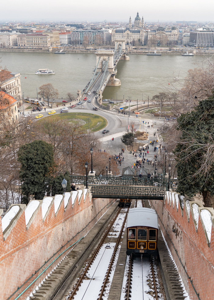 BUDA HILL FUNICULAR : THING TO DO IN BUDAPEST
