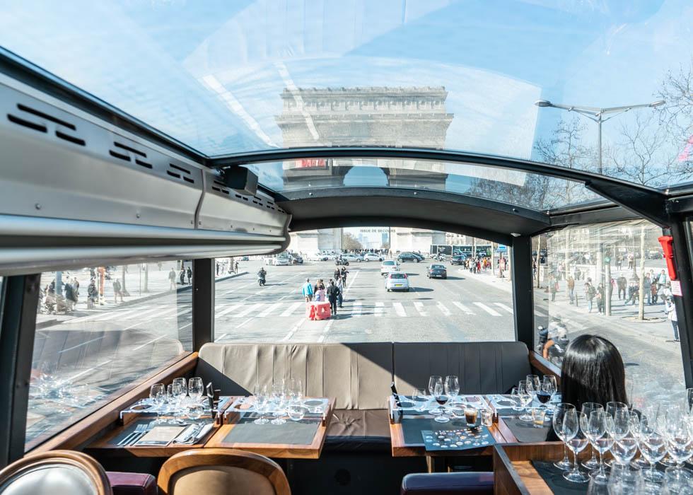 巴黎最好的巡遊巴士