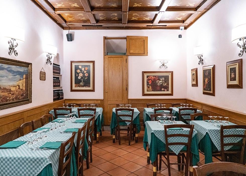 ローマ おすすめレストラン CARLO MENTA in Trastevere