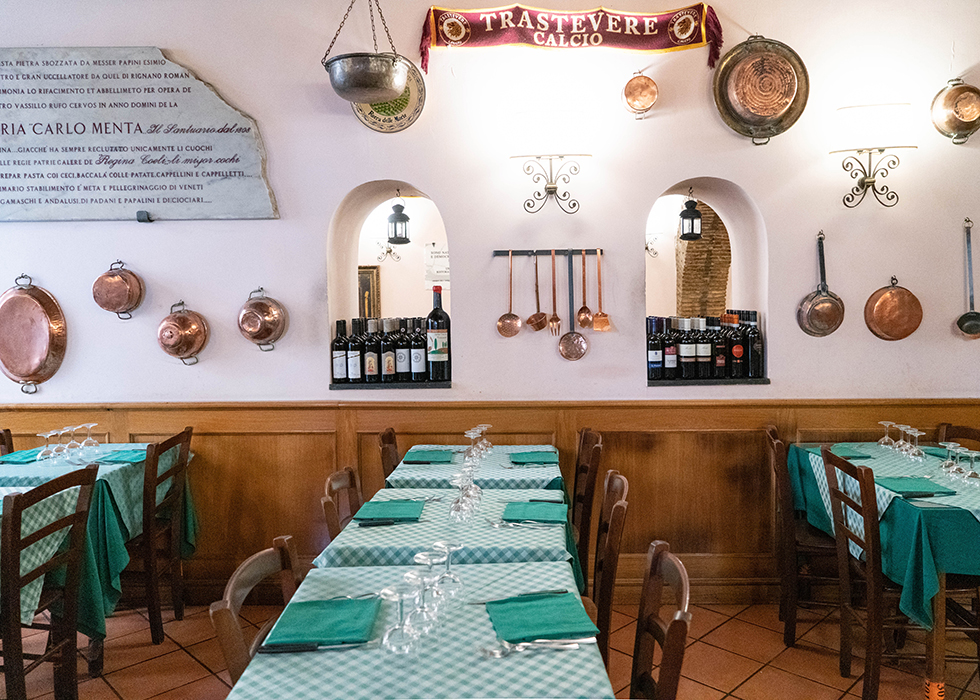 Rome good price and quality restaurant : CARLO MENTA
