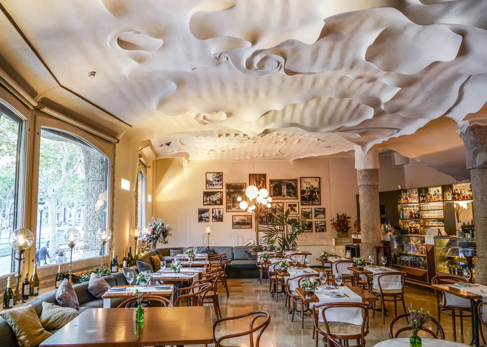 까사 밀라 1층 : 라 페드레라 카페