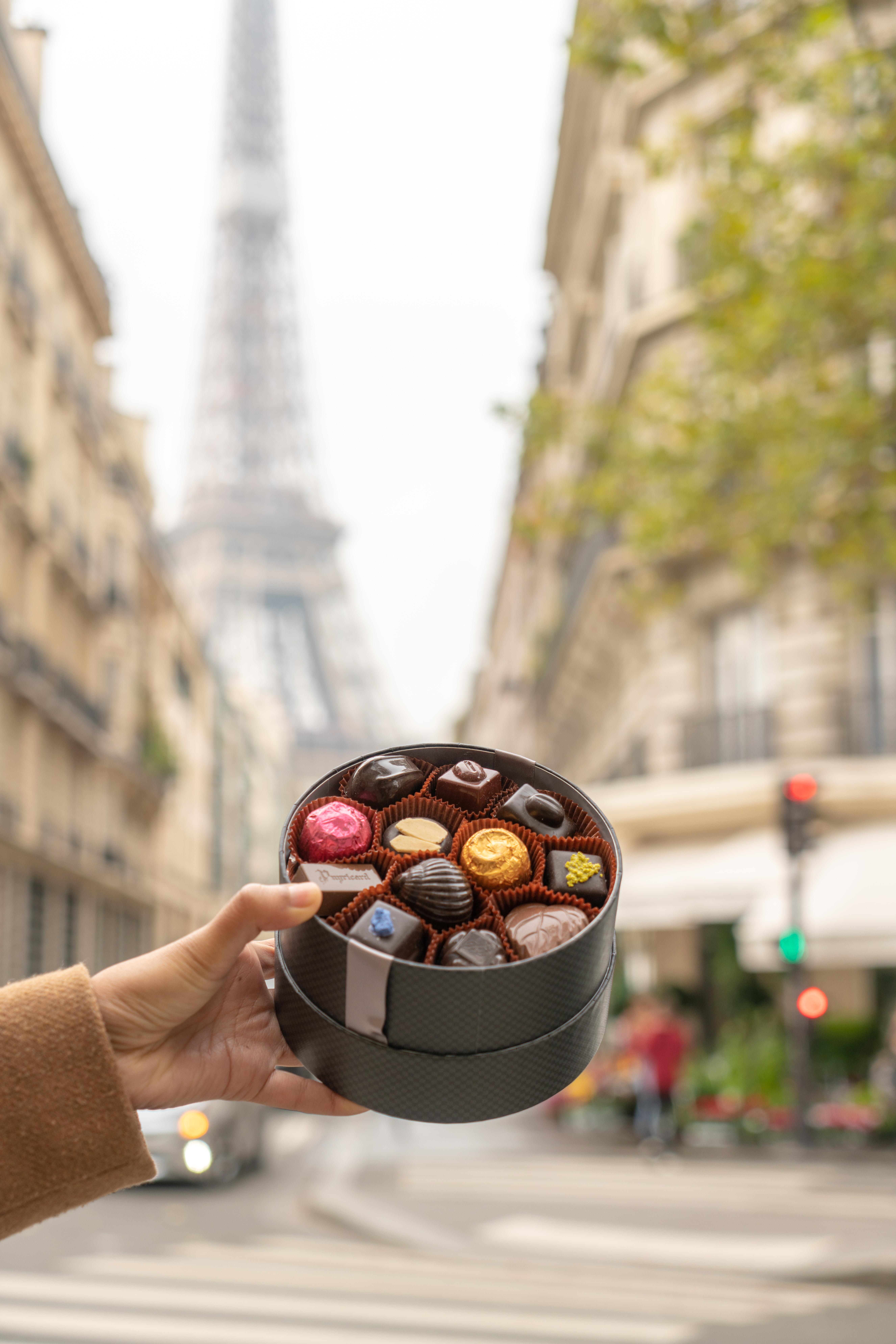 Chocolate shop near Eiffel Tower