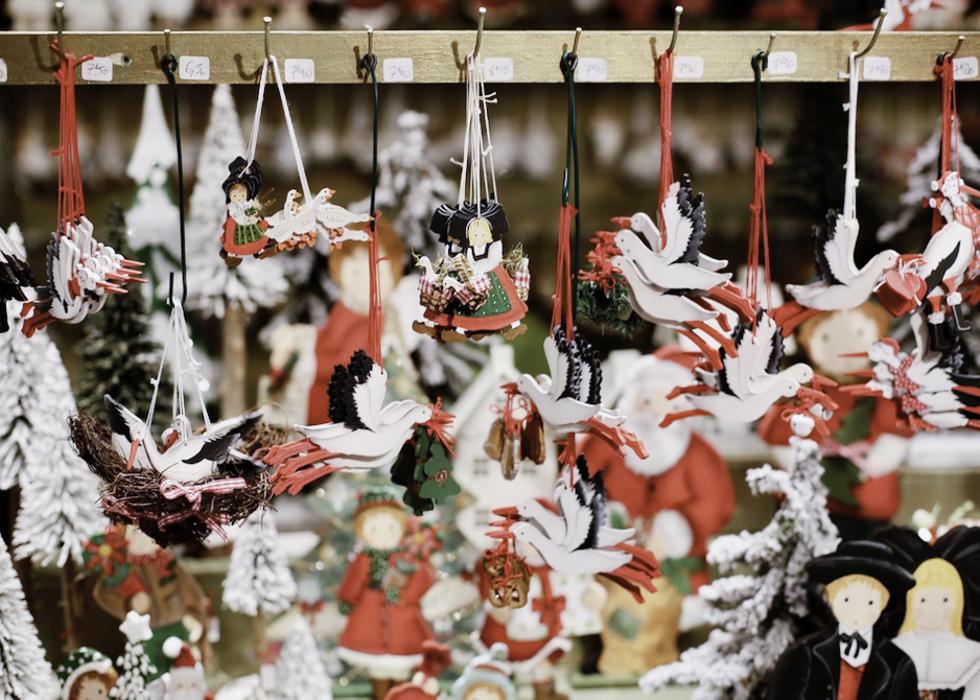 Рождественские сувениры в Париже