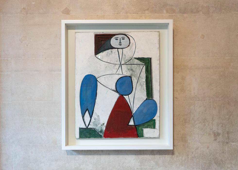 Picasso Museum Paris, Femme au fauteuil, Calder Picasso