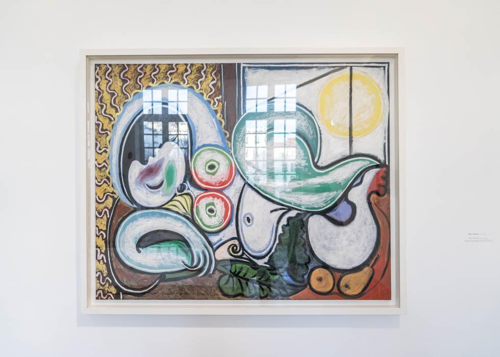 Musee de Picasso, Nu couche, Calder Picasso