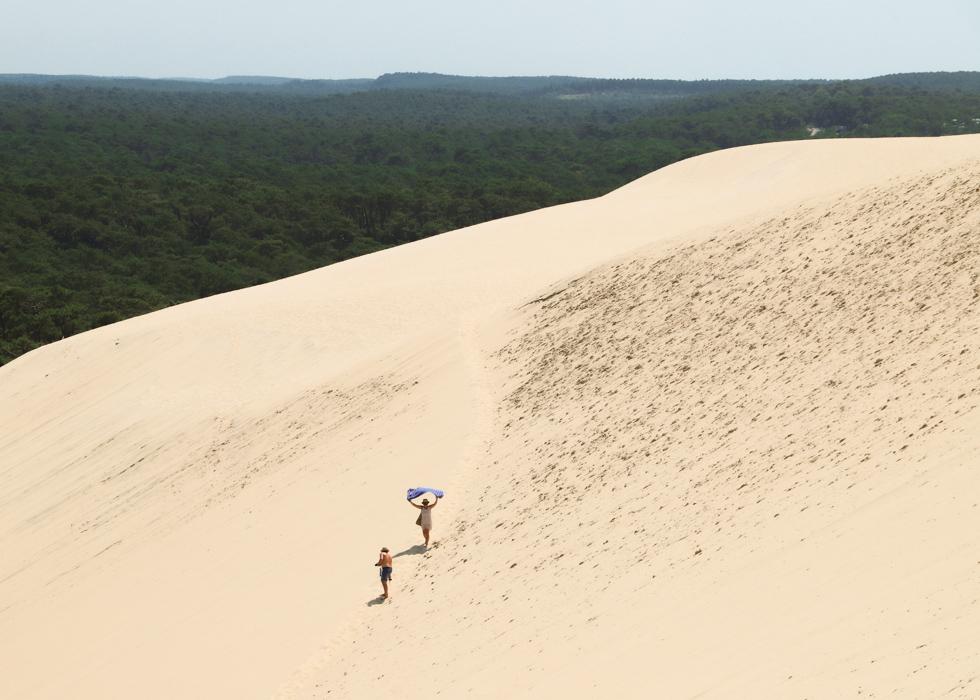 dune du pilat from Arcachon