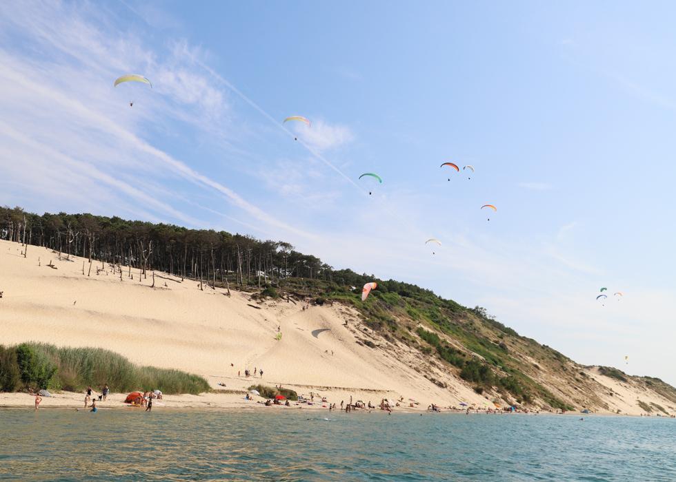 how to get to Dune du Pilat