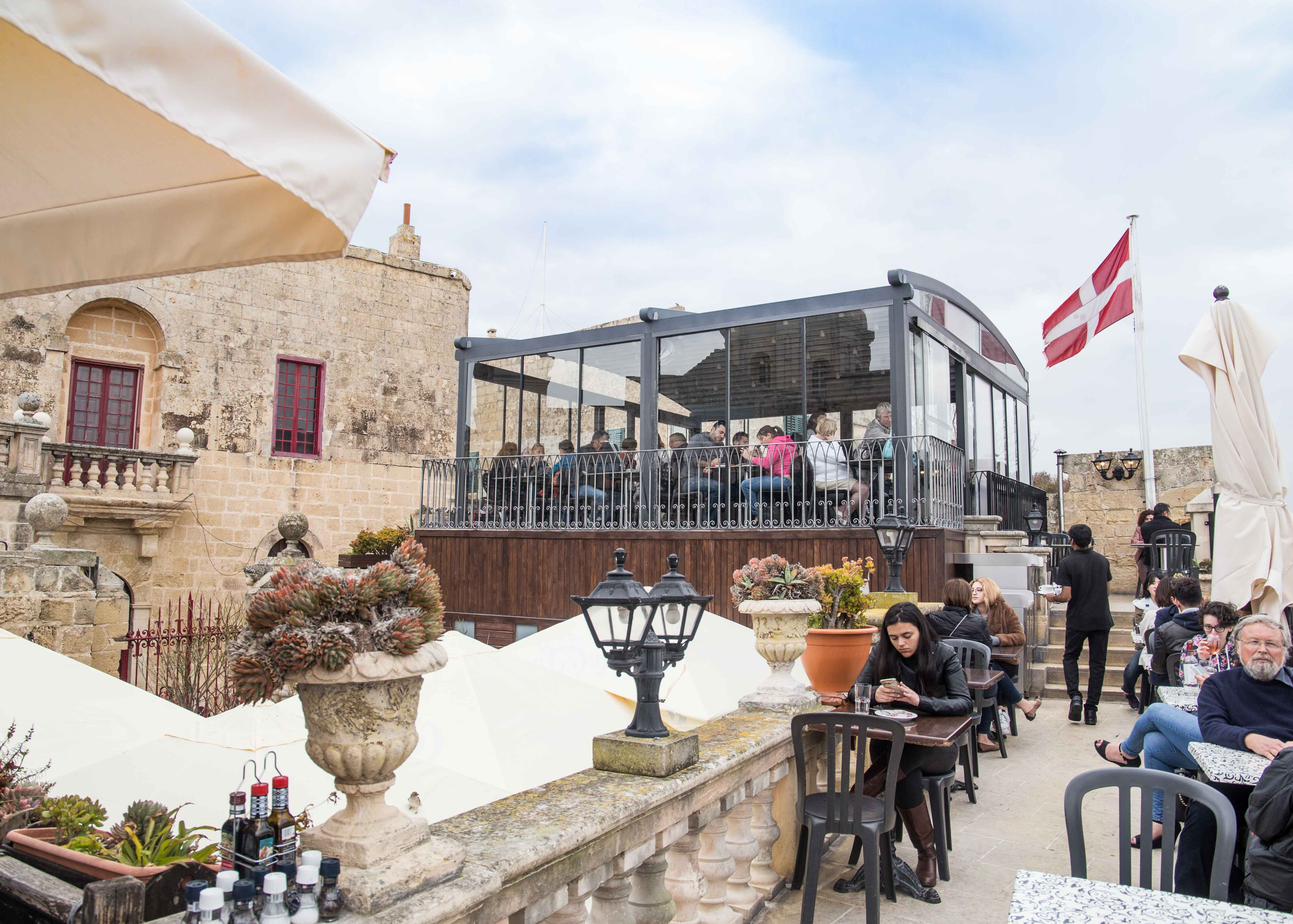 Where to visit in Mdina, best cafe in Mdina