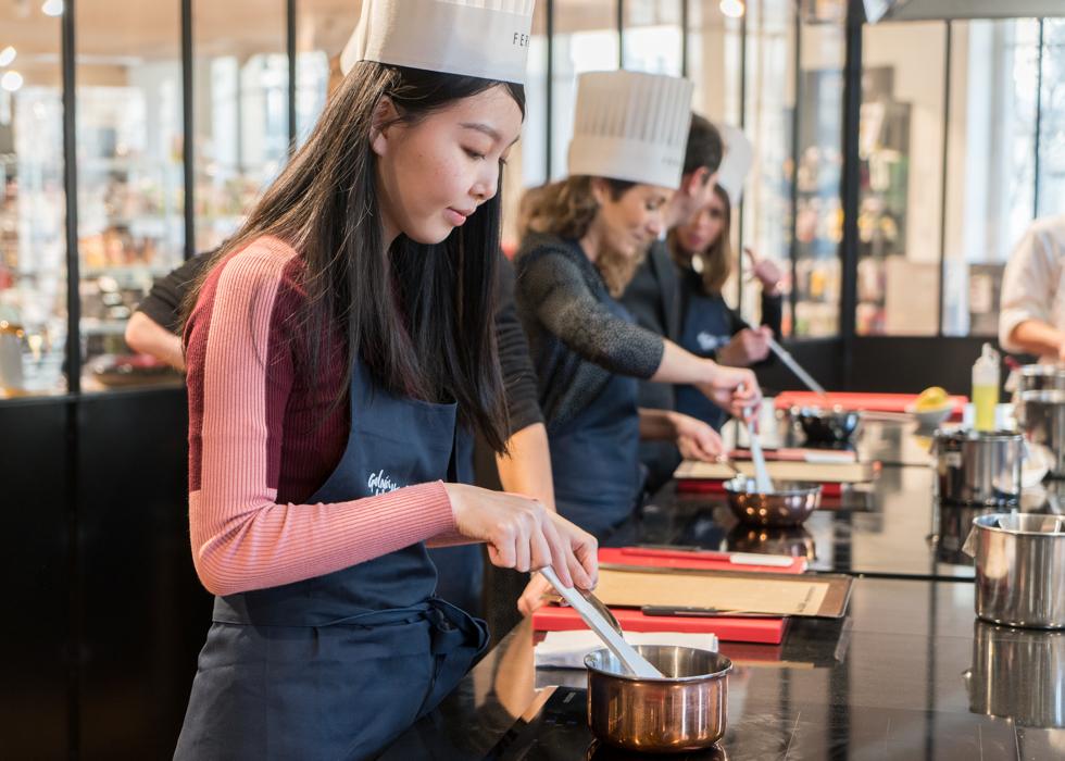 Кулинарный мастер-класс в Париже