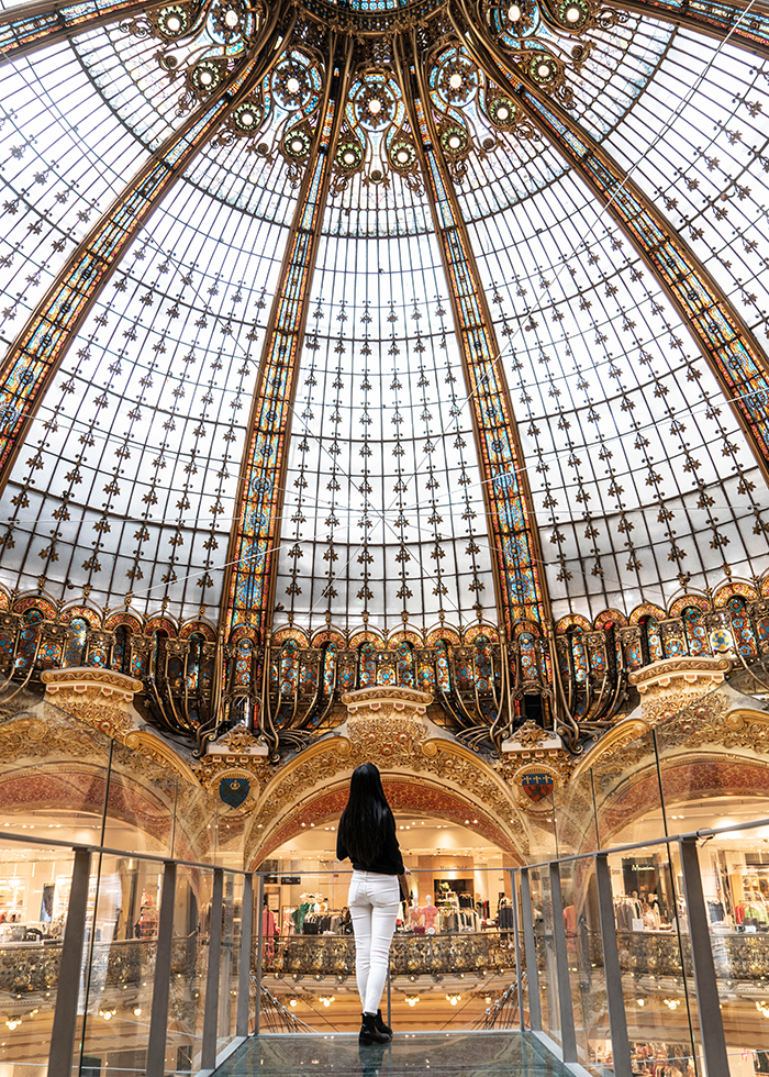 THE MOST BEAUTIFUL DEPARTMENT STORE IN PARIS
