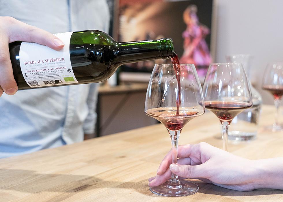 파리 와인 테이스팅 : 갤러리 라파예트