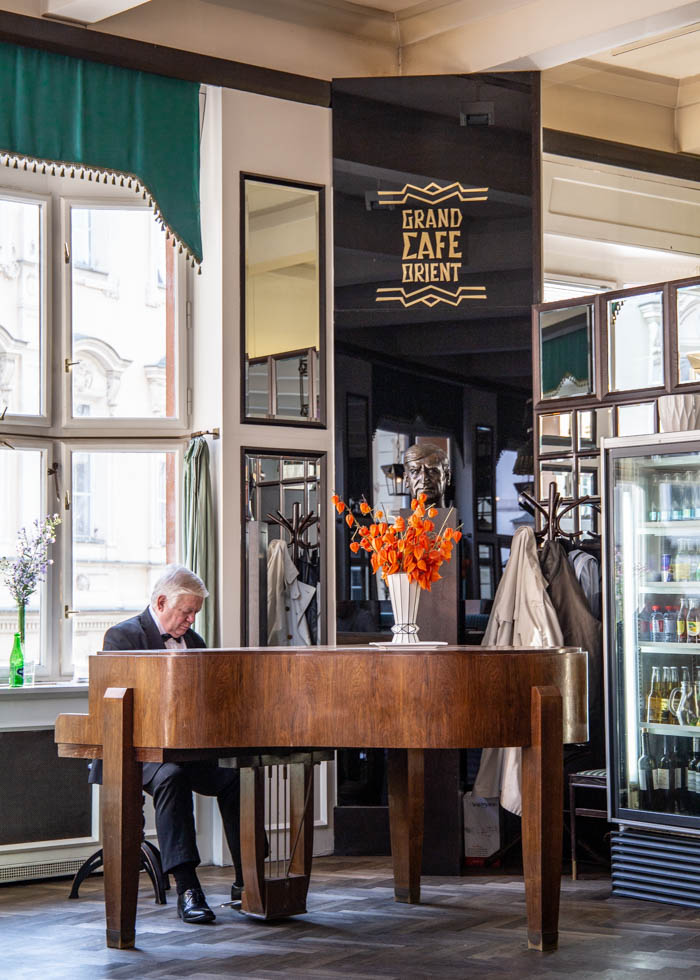 PRAGUE LIVE PIANO CAFE : GRAND CAFE ORIENT