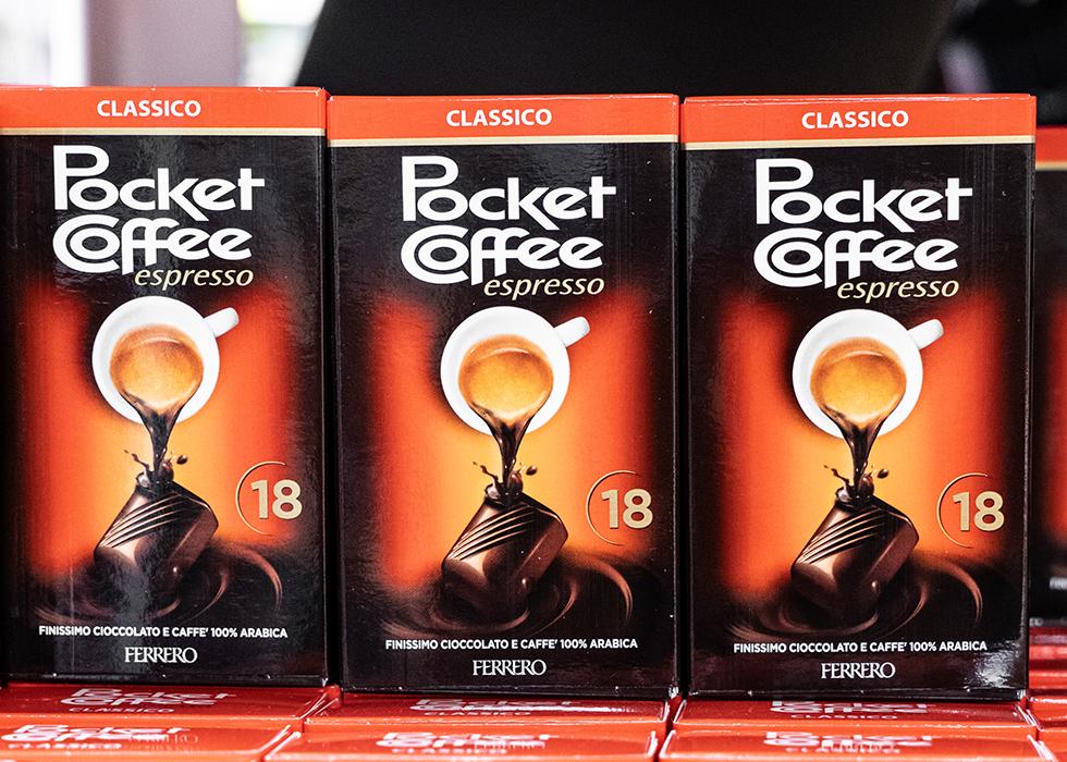 イタリア お土産 コーヒーチョコレート POCKET COFFEE CHOCOLATE