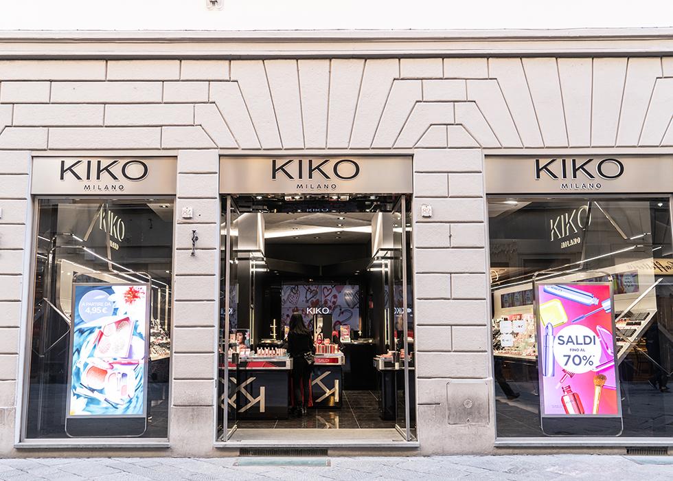 KIKO 化粧品 イタリア