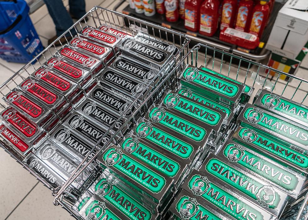 イタリアお土産 MARVIS 歯磨き粉