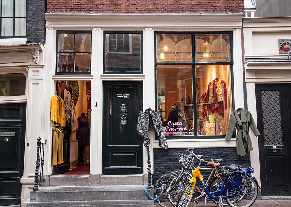 アムステルダム ヨルダーン地区 9ストリート DE 9 Straatjes