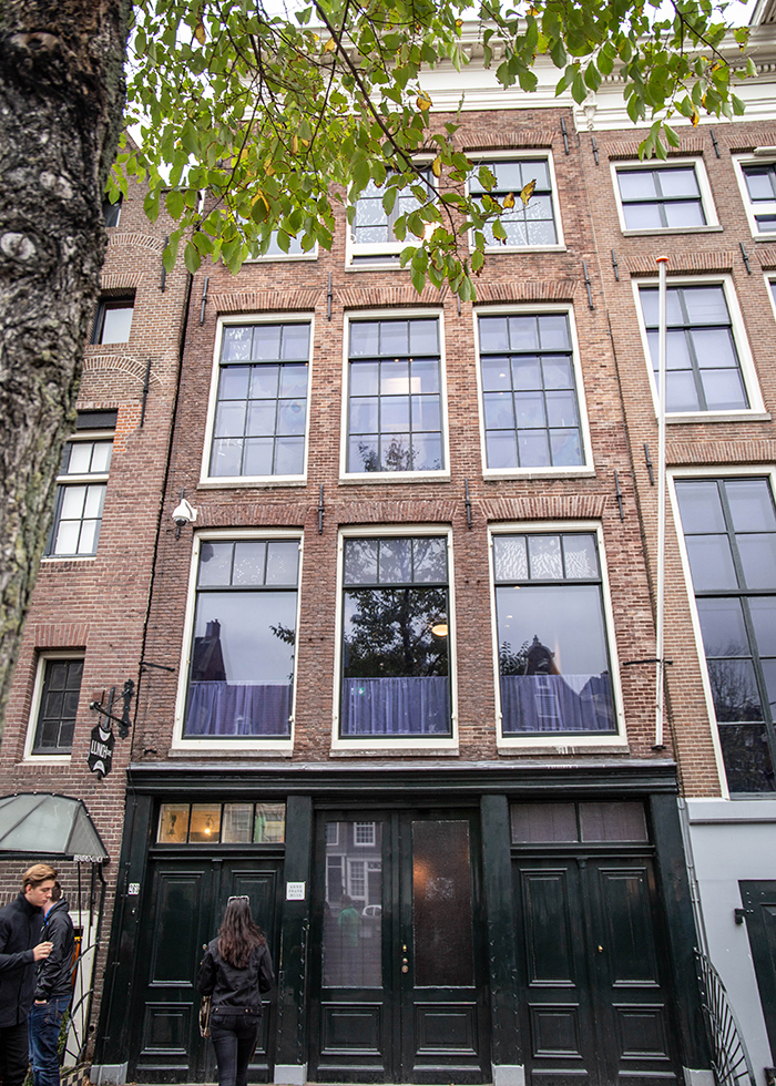 アムステルダム アンネフランクの家