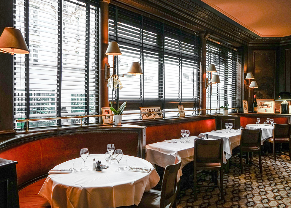 巴黎百年道地法餐廳:la gauloise