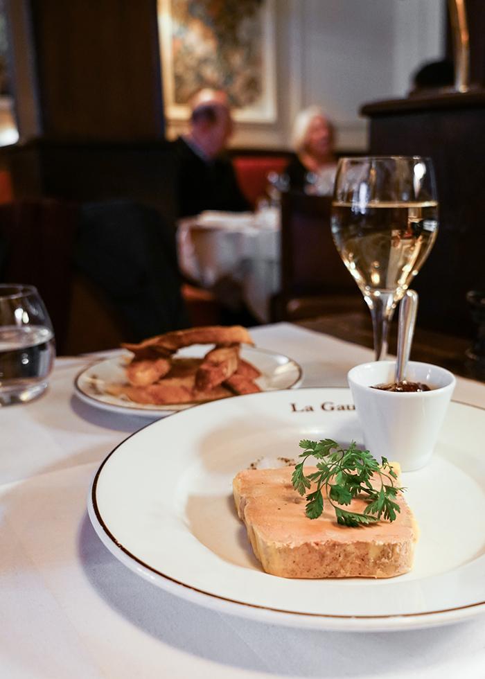 where to eat foie gras in paris