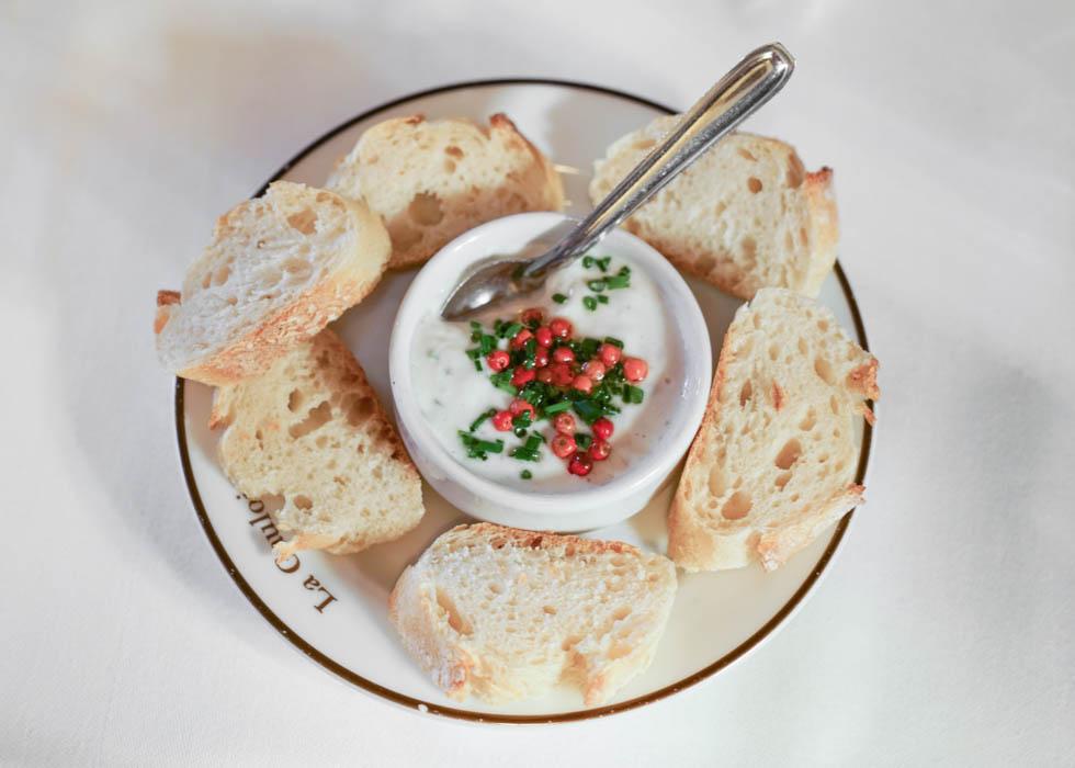 餐廳自家製的法式料理