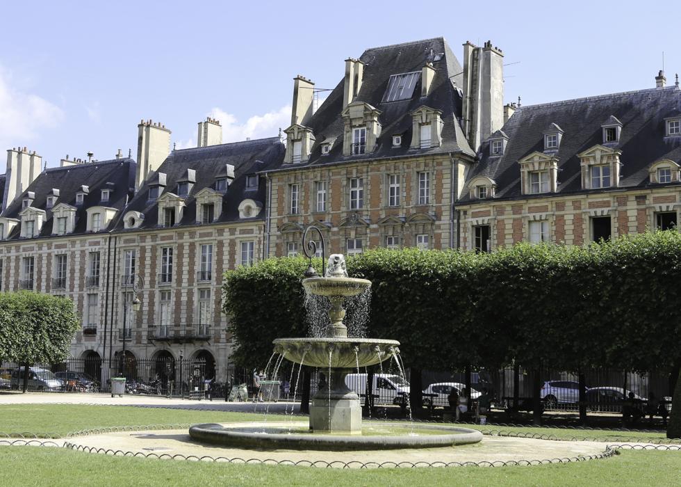 place des Vosges Photo