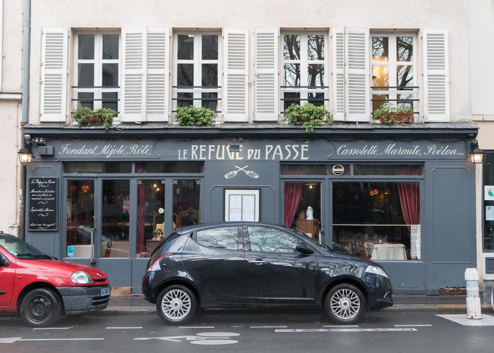 巴黎復古法式餐廳