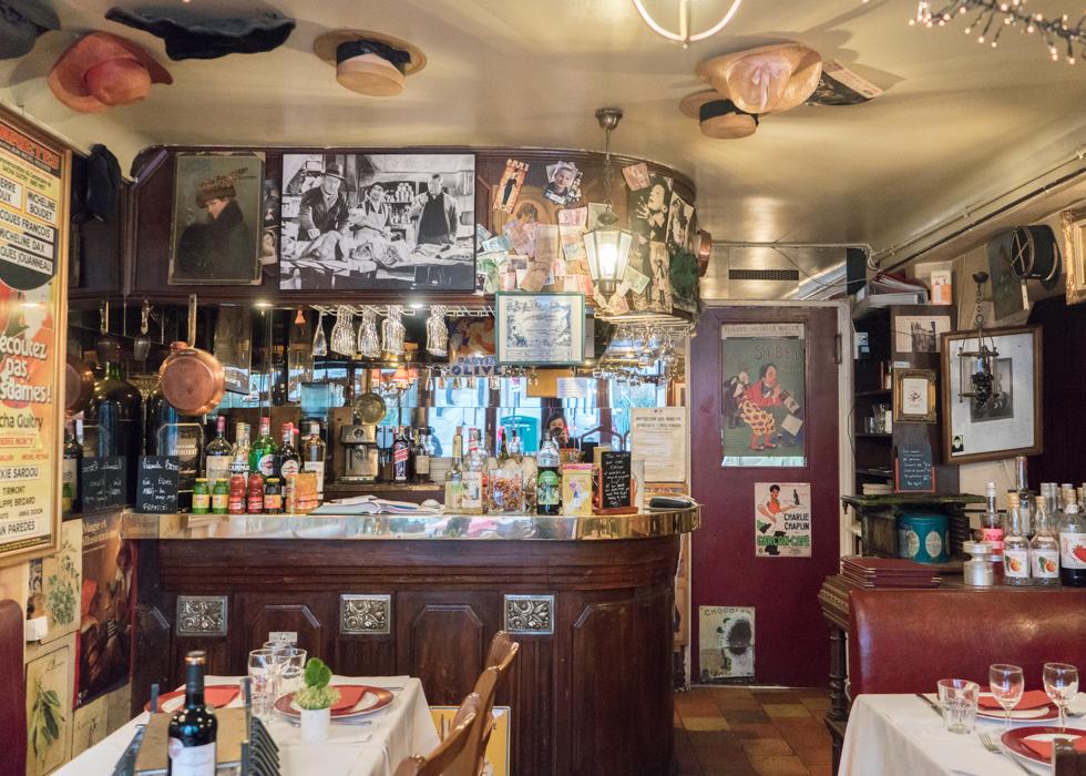 Le refuge du passé, 巴黎復古風法式餐廳