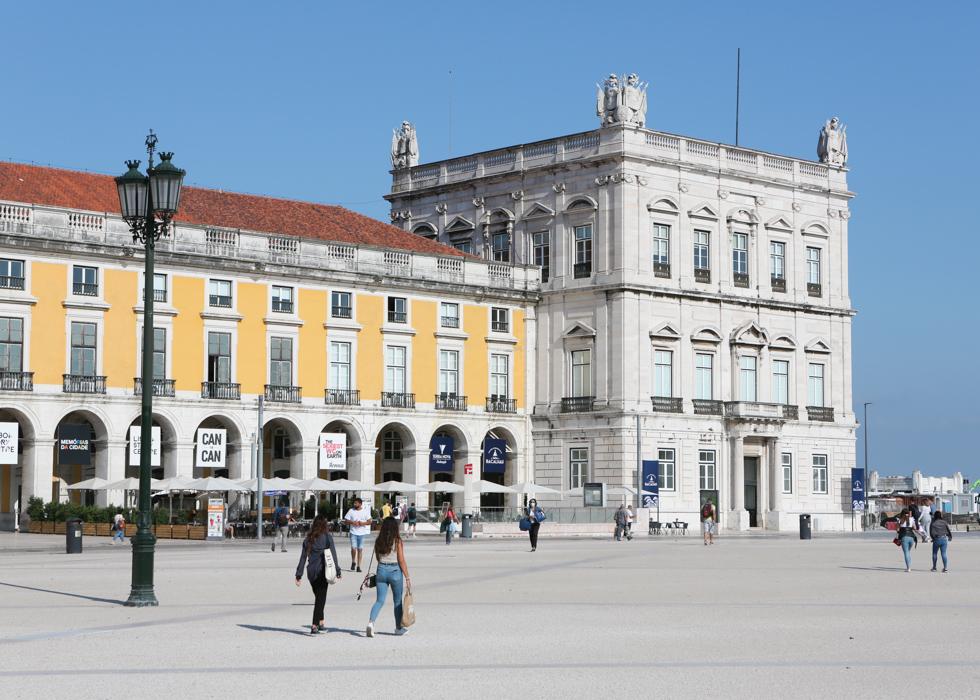 리스본 코메르시우 광장 Praça Do Commercio