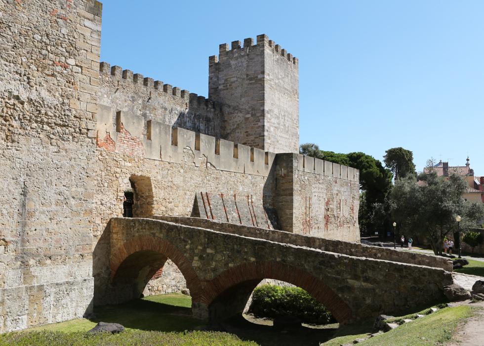 리스본 상 조르제 성 Castelo de São Jorge